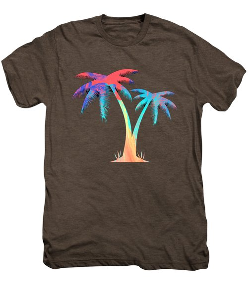 Tropical Palm Trees Men's Premium T-Shirt