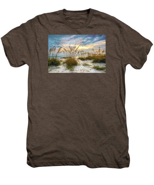 Twilight Sea Oats Men's Premium T-Shirt