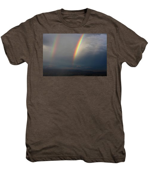 Two Rainbows Men's Premium T-Shirt