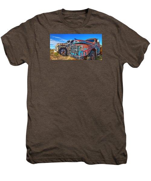 Two Trucks Men's Premium T-Shirt