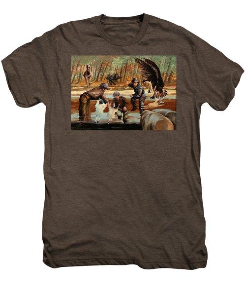 Un Po' Di Casino Men's Premium T-Shirt