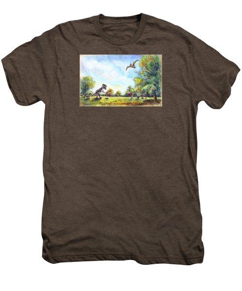 Uninvited Picnic Guests Men's Premium T-Shirt