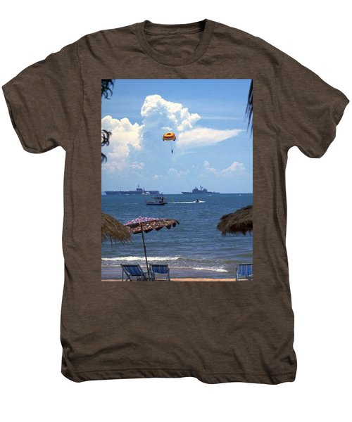 Us Navy Off Pattaya Men's Premium T-Shirt