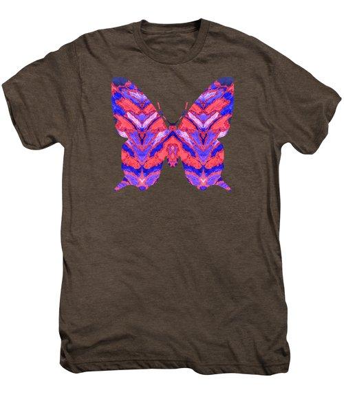 Vibrant Butterfly  Men's Premium T-Shirt