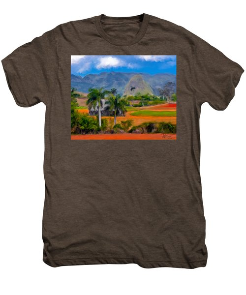 Vinales Valley. Cuba Men's Premium T-Shirt