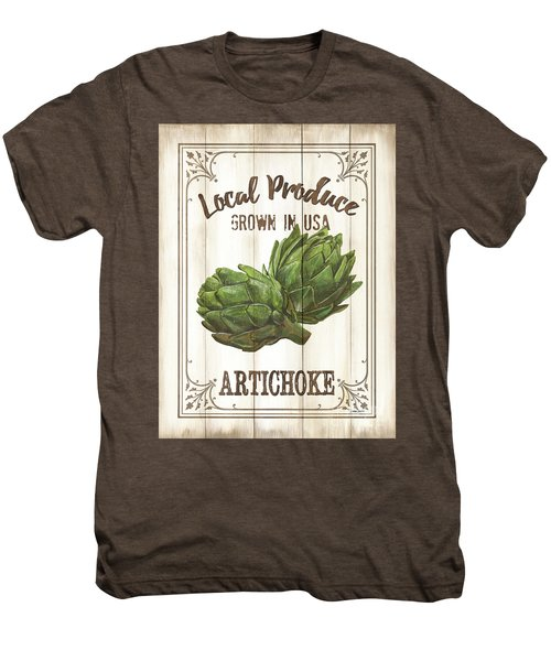 Vintage Fresh Vegetables 2 Men's Premium T-Shirt