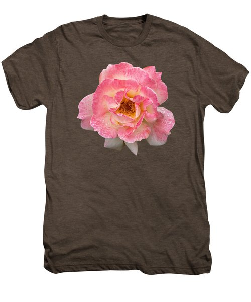Vintage Rose Square Men's Premium T-Shirt