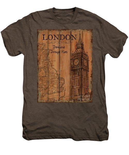 Vintage Travel London Men's Premium T-Shirt