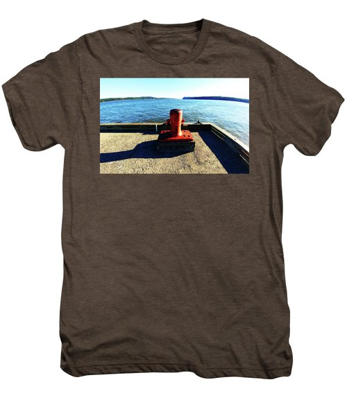 Waiting For The Ship To Come In. Men's Premium T-Shirt