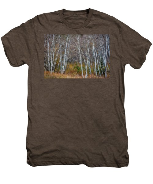 Men's Premium T-Shirt featuring the photograph Walk In The Woods by James BO Insogna