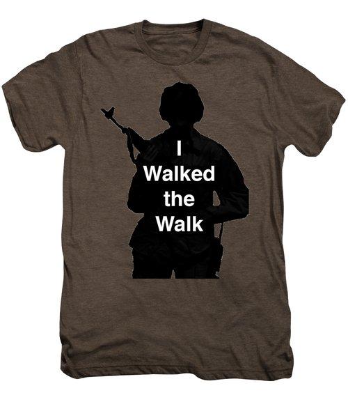 Walk The Walk Men's Premium T-Shirt