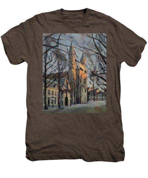 Warm Winterlight Olv Plein Men's Premium T-Shirt