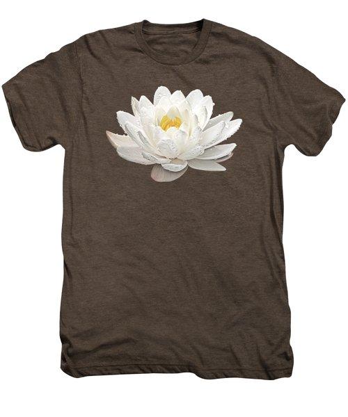 Water Lily Whirlpool Men's Premium T-Shirt
