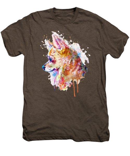 Watercolor Chihuahua  Men's Premium T-Shirt