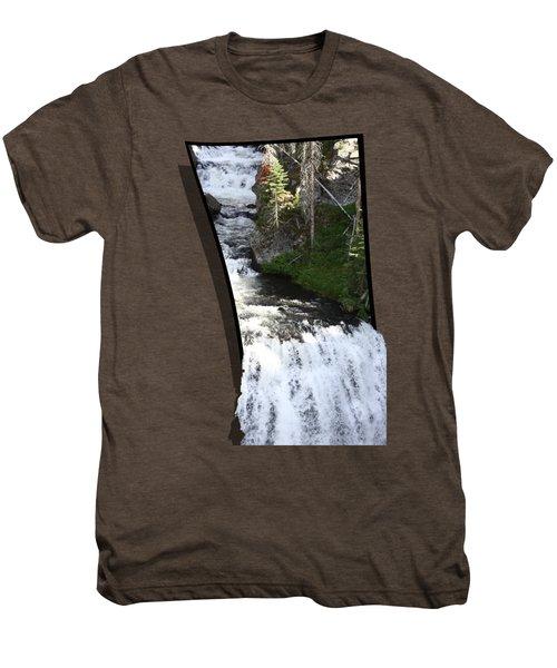 Waterfall Men's Premium T-Shirt