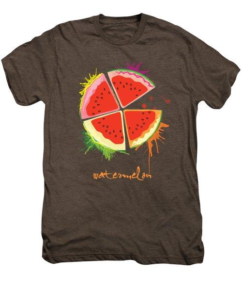 Watermelon Splash Men's Premium T-Shirt