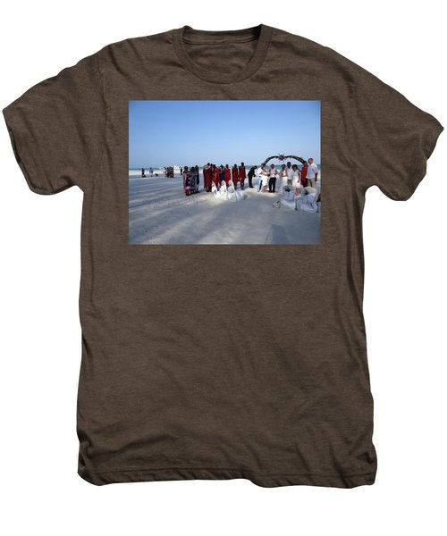 Wedding In The Afternoon Shadow Men's Premium T-Shirt