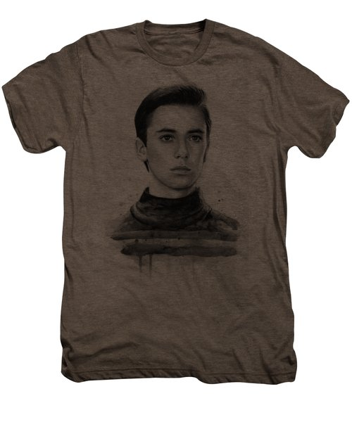 Wesley Crusher Star Trek Fan Art Men's Premium T-Shirt
