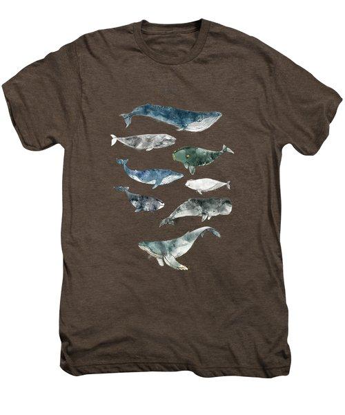 Whales Men's Premium T-Shirt