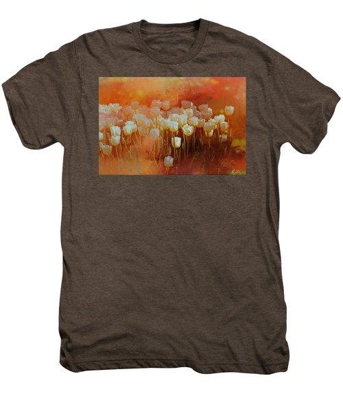 White Tulips Men's Premium T-Shirt