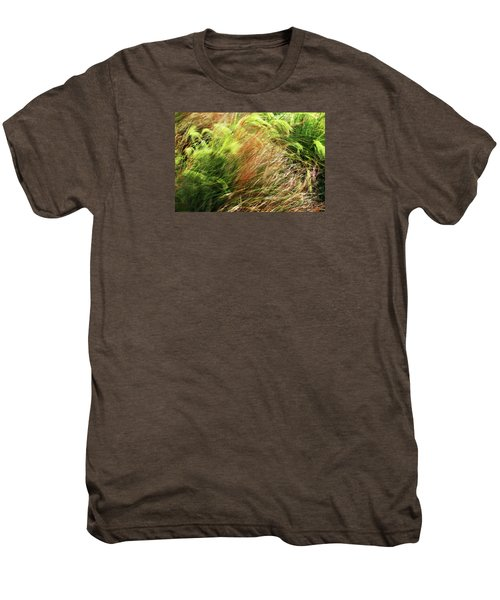 Windblown Grasses Men's Premium T-Shirt