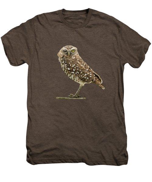 Winking Owl Men's Premium T-Shirt
