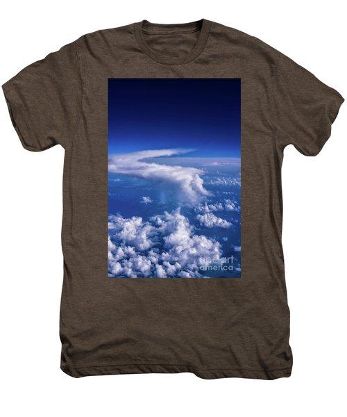 Writing In The Sky Men's Premium T-Shirt