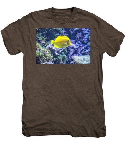 Yellow Tang Men's Premium T-Shirt