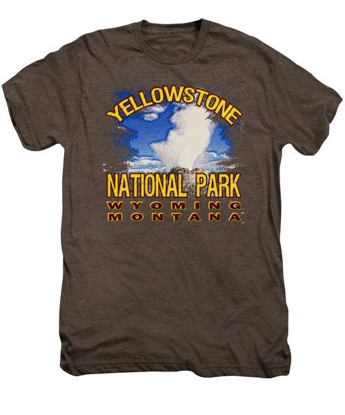 Yellowstone National Park Men's Premium T-Shirt