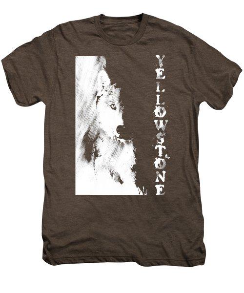 Yellowstone Wolf T-shirt Men's Premium T-Shirt