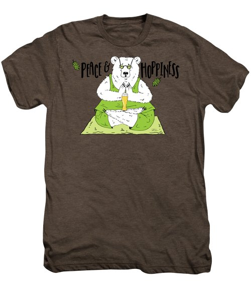 Yoga Beer Bear Men's Premium T-Shirt