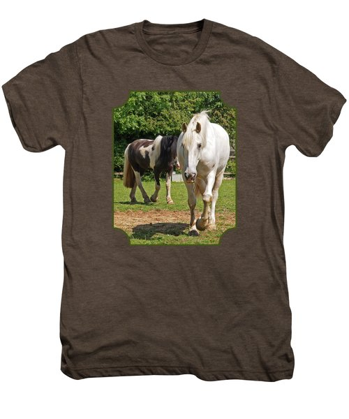 You Lead I'll Follow - Horse Friends Men's Premium T-Shirt