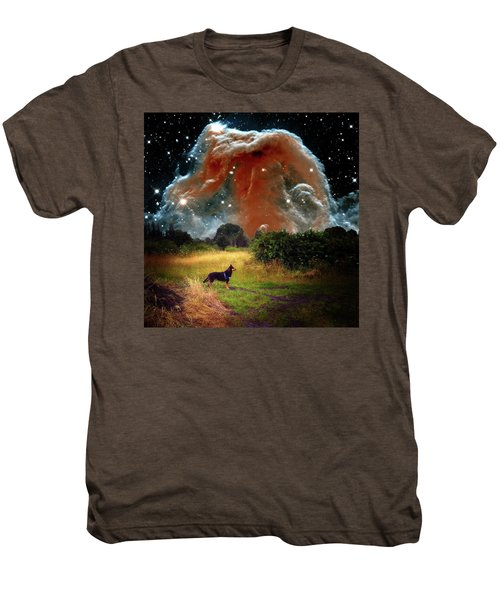 Men's Premium T-Shirt featuring the photograph Aspiring Lunar Rover Outer Space Image by Bill Swartwout Fine Art Photography