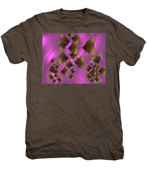 Butterfly Patterns 17 Men's Premium T-Shirt