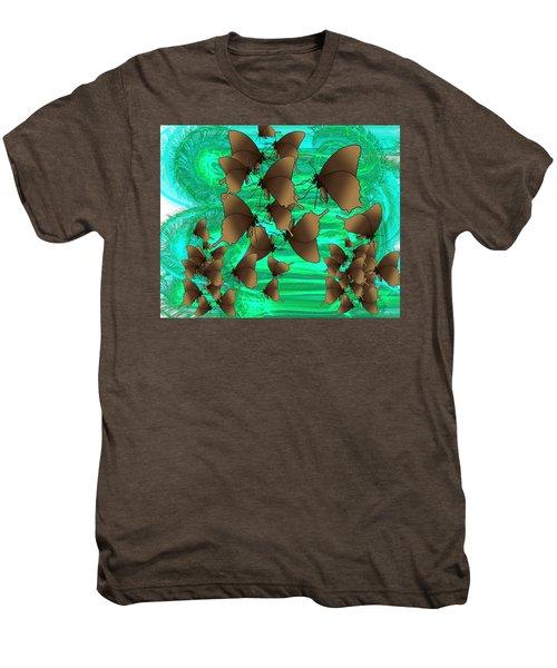 Butterfly Patterns 3 Men's Premium T-Shirt
