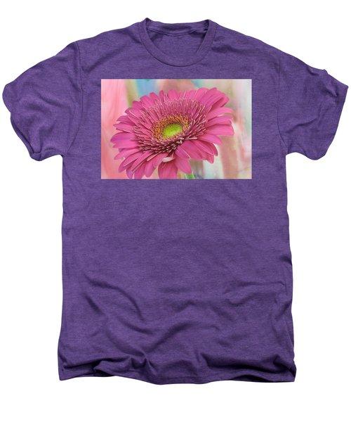 Gerbera Daisy Macro Men's Premium T-Shirt
