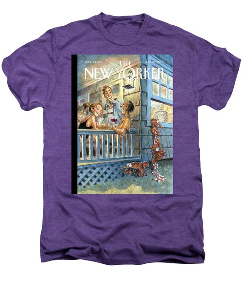 New Yorker July 28th, 2008 Men's Premium T-Shirt