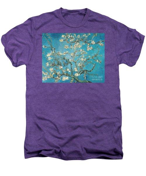 Almond Branches In Bloom Men's Premium T-Shirt
