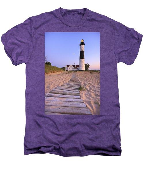 Big Sable Point Lighthouse Men's Premium T-Shirt