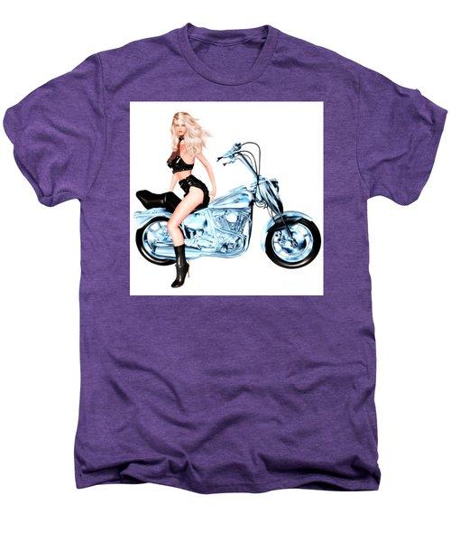 Biker Girl Men's Premium T-Shirt
