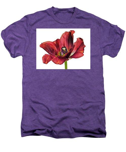 Burning Tulip Men's Premium T-Shirt
