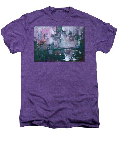 City That Never Sleeps Men's Premium T-Shirt
