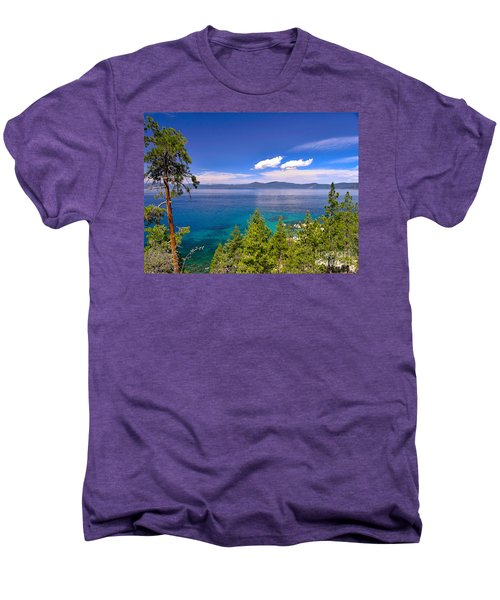 Clouds And Silence - Lake Tahoe Men's Premium T-Shirt