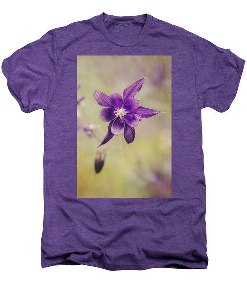 Columbine Flower Men's Premium T-Shirt