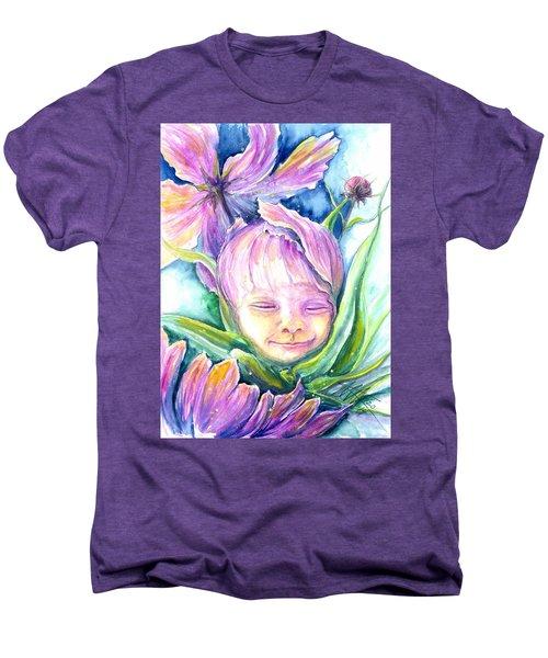 Cosmos Bud Men's Premium T-Shirt