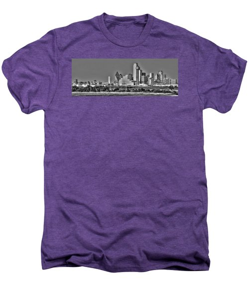 Dallas The New Gotham City  Men's Premium T-Shirt by Jonathan Davison