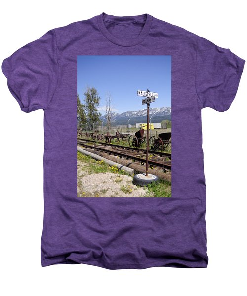 Kalispell Crossing Men's Premium T-Shirt