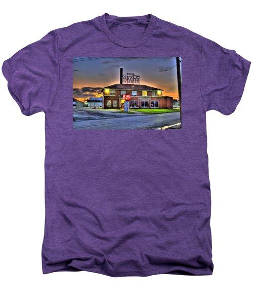 Old Coca Cola Bottling Plant Men's Premium T-Shirt by Jonny D