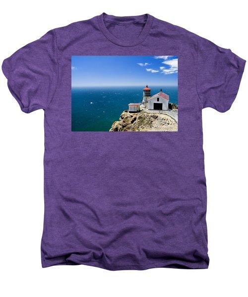 Point Reyes Lighthouse California Men's Premium T-Shirt