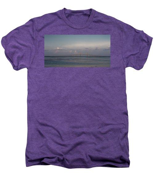 Sunshine Skyway Bridge Men's Premium T-Shirt